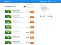 Xbox gift card online bestellen