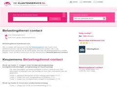 Belastingdienst contact