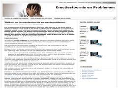 Erectie problemen door toegediende Medicatie